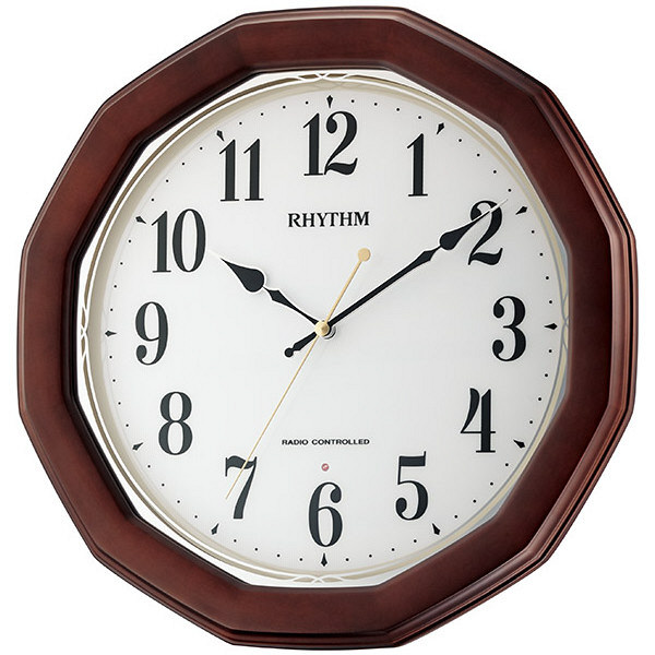 電波掛時計 フィットウェーブハンナ