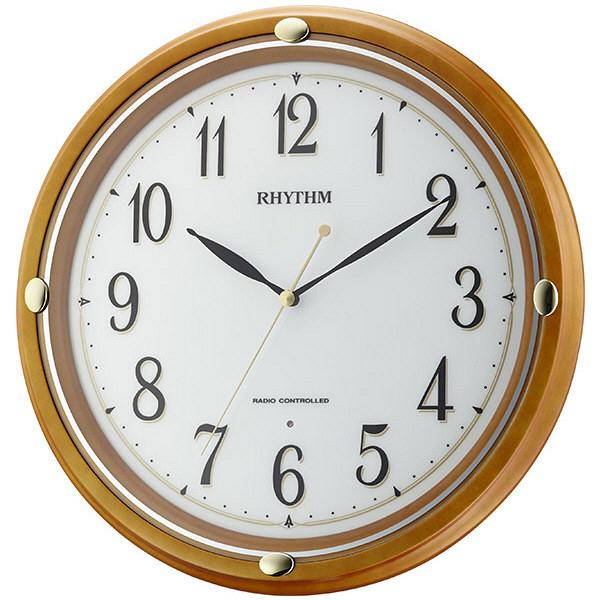 木製電波掛時計 フィットウェーブフーガ7