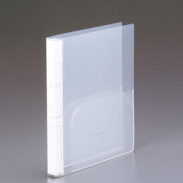 リヒトラブ カルテバインダー スタンダード A4 30穴 HK748 1箱(10冊入) (直送品)