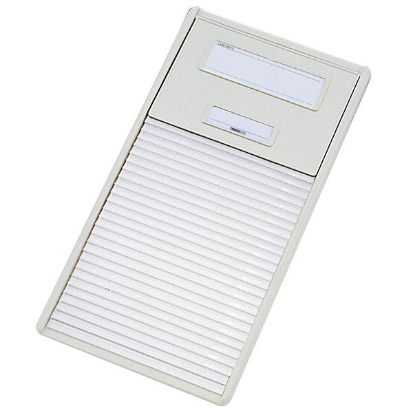 リヒトラブ カードインデックス(カーデックス) B5 ポケット数/26 オフホワイト HC102C-1 (直送品)