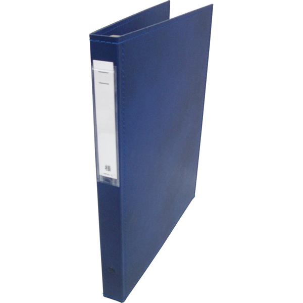 リヒトラブ カルテブック スタンダード表紙 30穴 背幅28mm ブルー HB408-1 1箱(10冊入) (直送品)