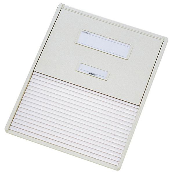 リヒトラブ カードインデックス(カーデックス) B4 ポケット数/16 オフホワイト HC103C-1 (直送品)