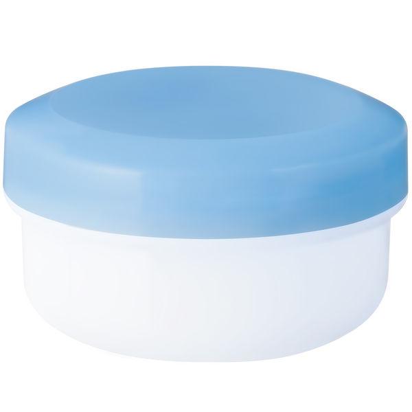 金鵄製作所 アルファ軟膏壺(増量型軟膏容器) 24mL スカイブルー 1袋(30個入)