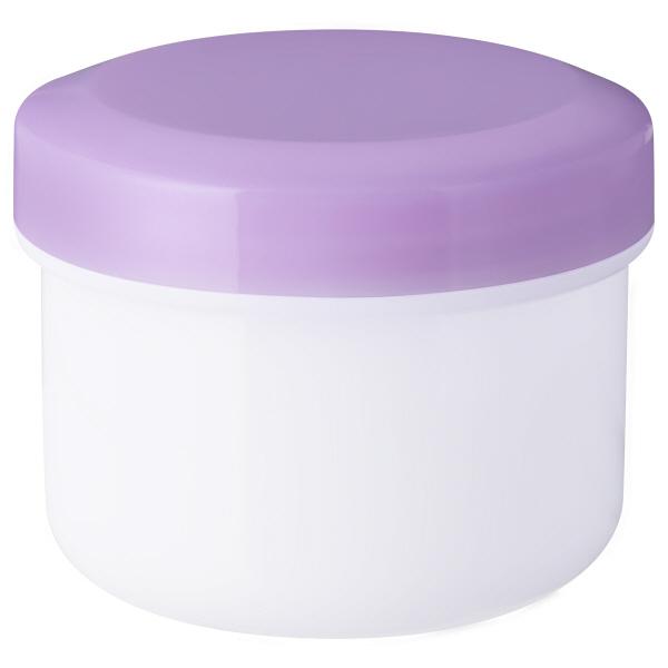 金鵄製作所 アルファ軟膏壺(増量型軟膏容器) 36mL パープル 1袋(30個入)