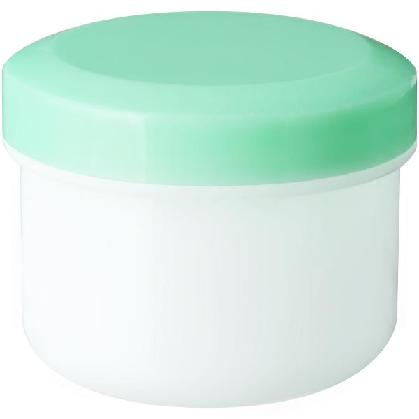 金鵄製作所 アルファ軟膏壺(増量型軟膏容器) 36mL ライトグリーン 1袋(30個入)
