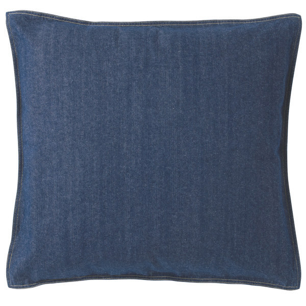 綿デニム座ぶとんカバー/ブルー