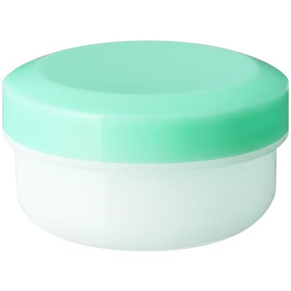 金鵄製作所 アルファ軟膏壺(増量型軟膏容器) 24mL ライトグリーン 1袋(150個入:30個入×5袋)
