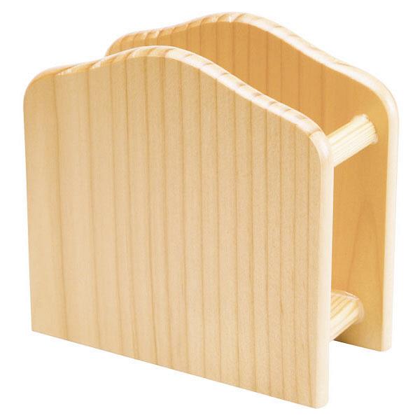 木製ナプキンスタンド ブラウン D8
