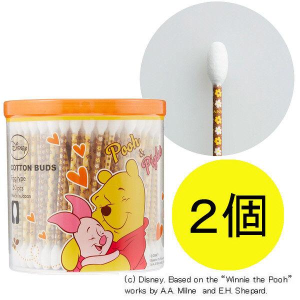 プーピグレット抗菌エッグ綿棒150本×2