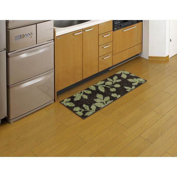 ブラットキッチンマット 45×120 緑