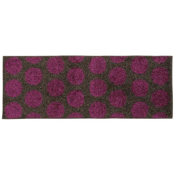 リング キッチンマット 45×120 紫