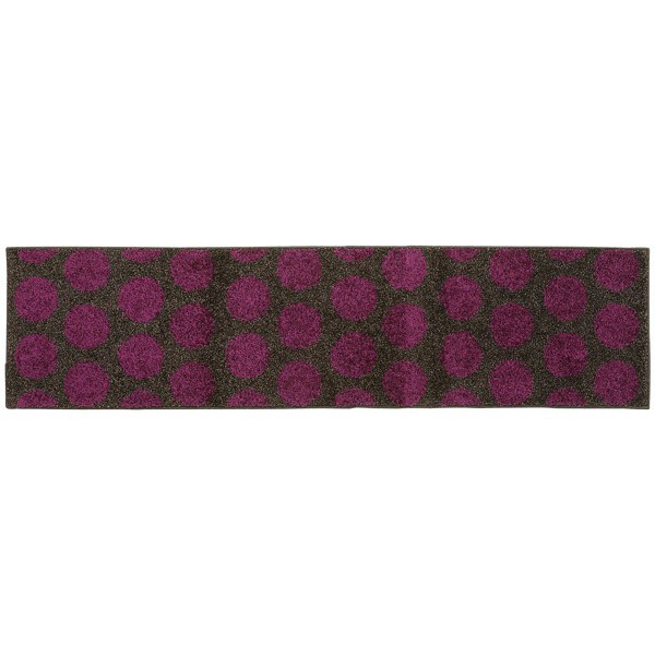 リング キッチンマット 45×180 紫