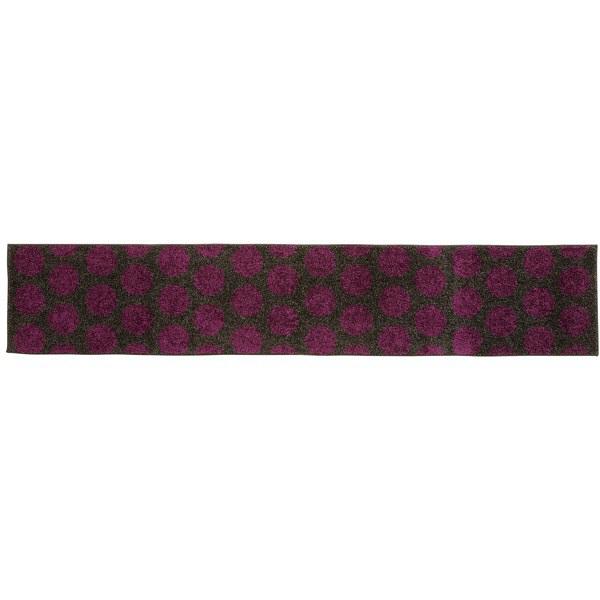リング キッチンマット 45×240紫