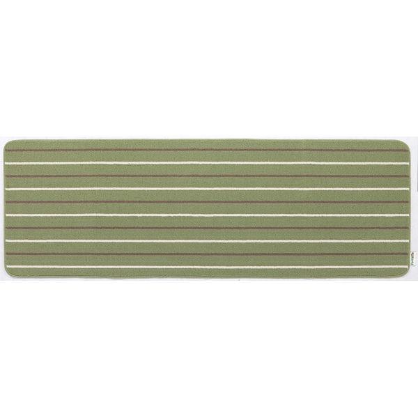 リーニエ キッチンマット 60×180緑