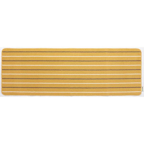 リーニエ キッチンマット 60×180黄