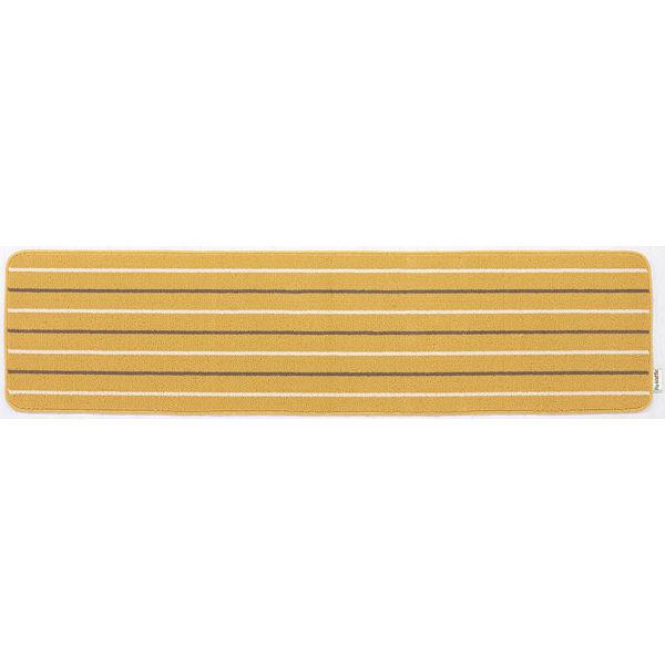 リーニエ キッチンマット 45×180黄
