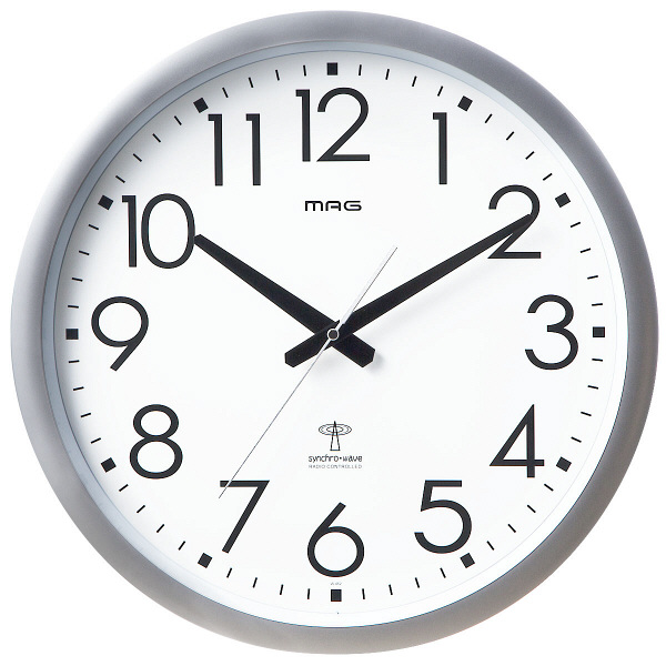 アスクル】ノア精密 電波時計:...