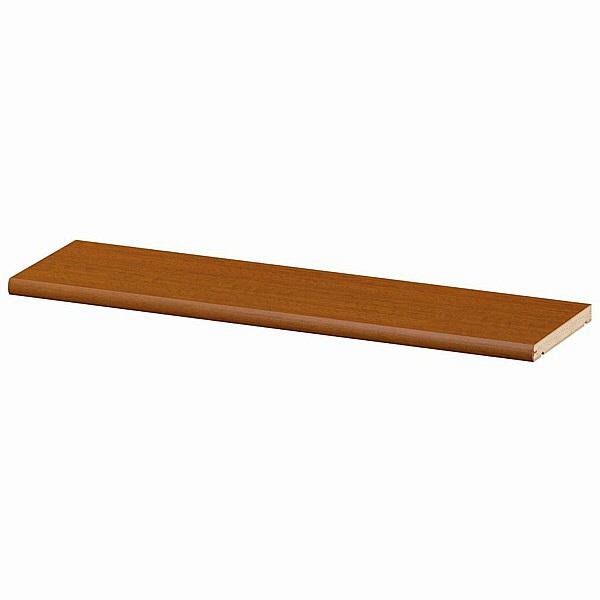 大洋 Shelfit(シェルフィット) エースラック/カラーラックS 追加棚板 標準タイプ 本体幅600×奥行190mm専用 ブラウン 1枚 (取寄品)