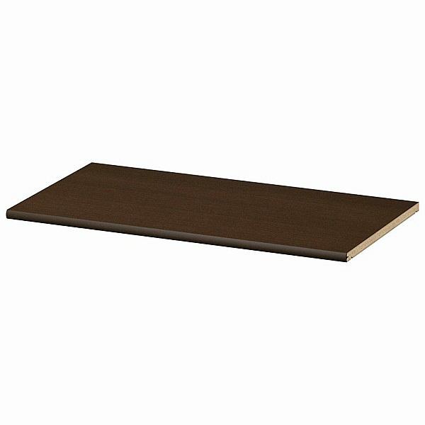 大洋 Shelfit(シェルフィット) エースラック/カラーラックM 追加棚板 標準タイプ 本体幅700×奥行400mm専用 ダークブラウン 1枚 (取寄品)