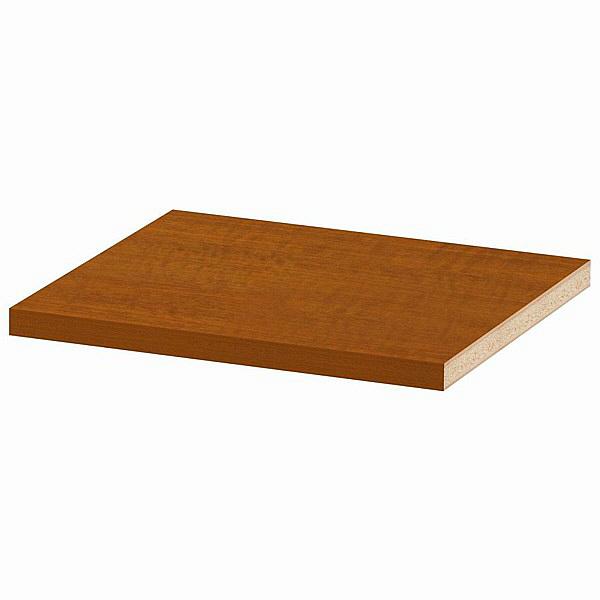大洋 Shelfit(シェルフィット) エースラック/カラーラックM 追加棚板 タフタイプ 本体幅400×奥行400mm専用 ブラウン 1枚 (取寄品)