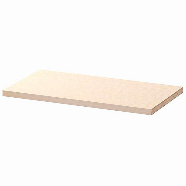 大洋 Shelfit(シェルフィット) エースラック/カラーラックM 追加棚板 タフタイプ 本体幅700×奥行400mm専用 ライトナチュラル 1枚 (取寄品)