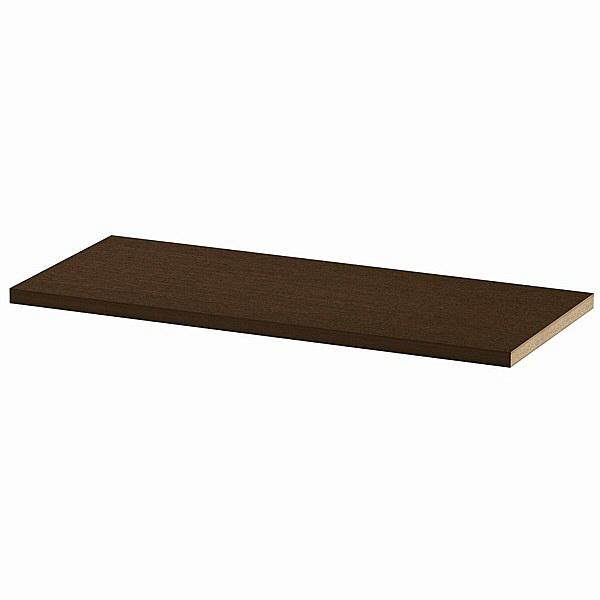 大洋 Shelfit(シェルフィット) エースラック/カラーラックM 追加棚板 タフタイプ 本体幅900×奥行400mm専用 ダークブラウン 1枚 (取寄品)