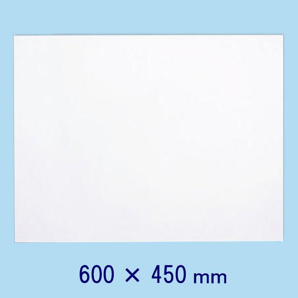 マグエックス 薄型マグネットホワイトボードシート 600×450mm MSHU-4560-M