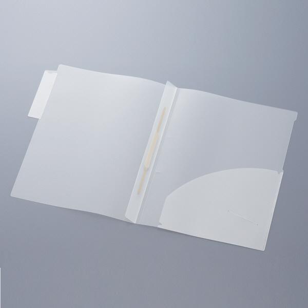 ハピラ KHTF50 カルテフォルダー A4タテ置き 見開き(ファスナー) 1パック(50枚入)