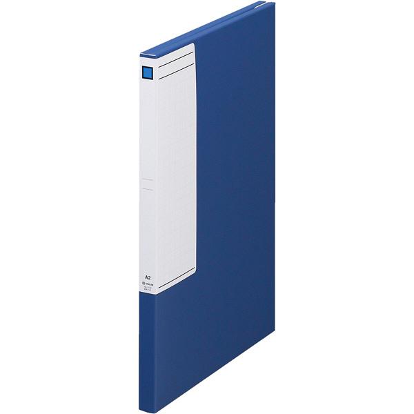 キングジム 図面ファイルGS A2サイズ用・2つ折 青 1172 5冊入