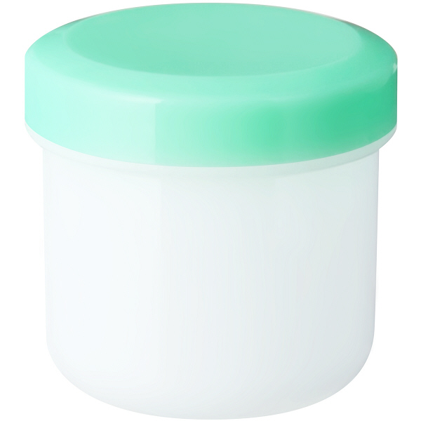 金鵄製作所 軟膏壺(定量型軟膏容器) 30mL ライトグリーン 1袋(50個入)