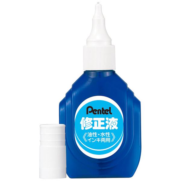 ぺんてる 修正液 油性・水性インキ両用
