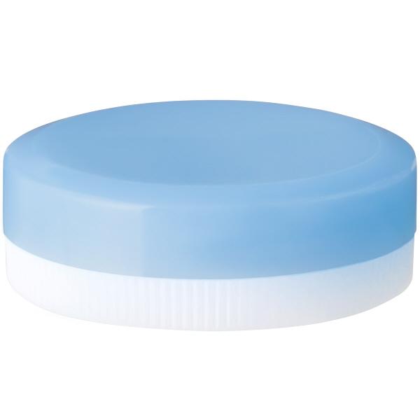 金鵄製作所 軟膏壺(定量型軟膏容器) 5mL スカイブルー 1袋(50個入)
