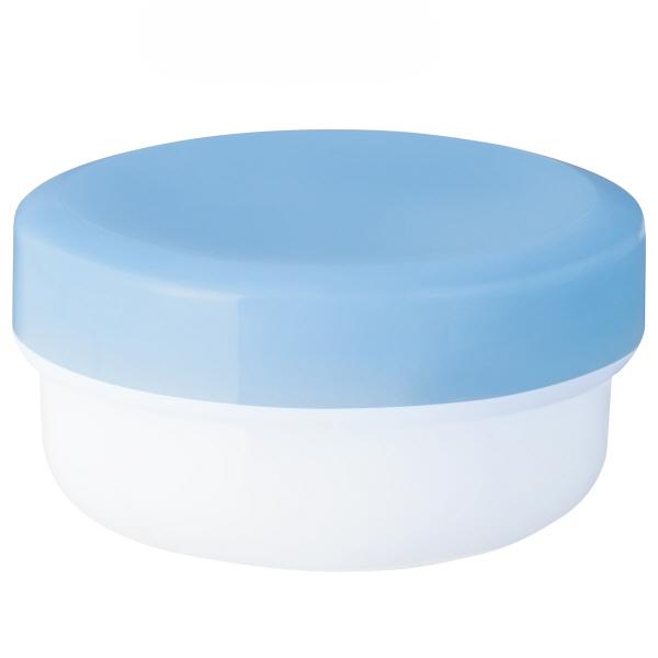 金鵄製作所 軟膏壺(定量型軟膏容器) 10mL スカイブルー 1袋(50個入)