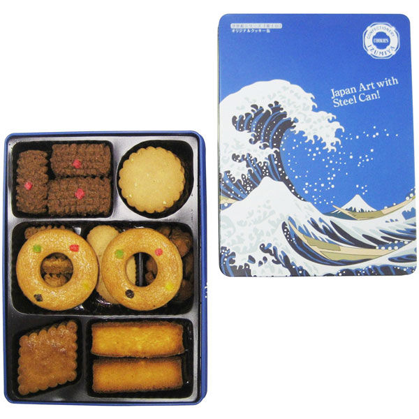 オリジナルクッキーズ  波缶 1箱