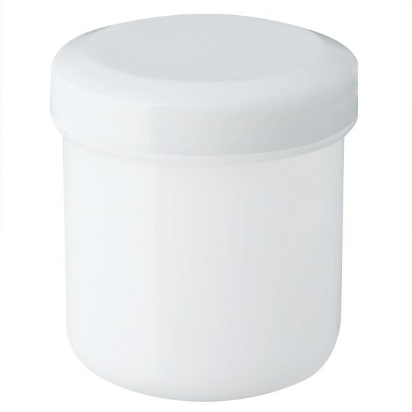 金鵄製作所 軟膏壺(定量型軟膏容器) 50mL ホワイト 1袋(30個入)