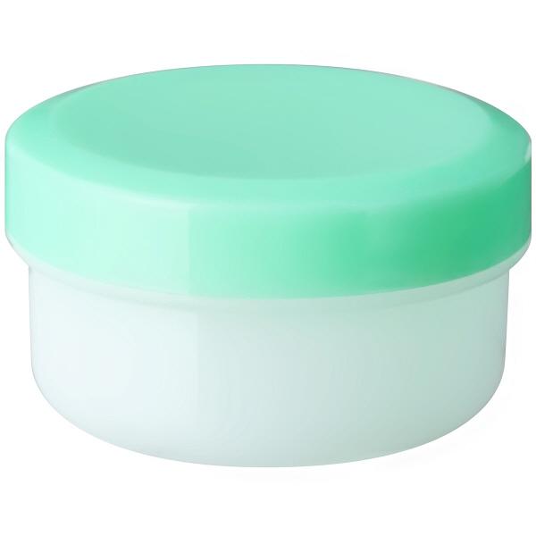 金鵄製作所 アルファ軟膏壺(増量型軟膏容器) 12mL ライトグリーン 1袋(50個入)