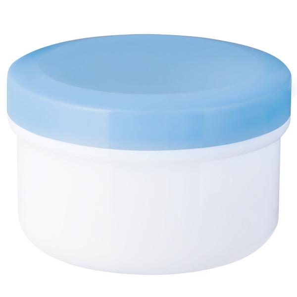 金鵄製作所 アルファ軟膏壺(増量型軟膏容器) 120mL スカイブルー 1袋(20個入)