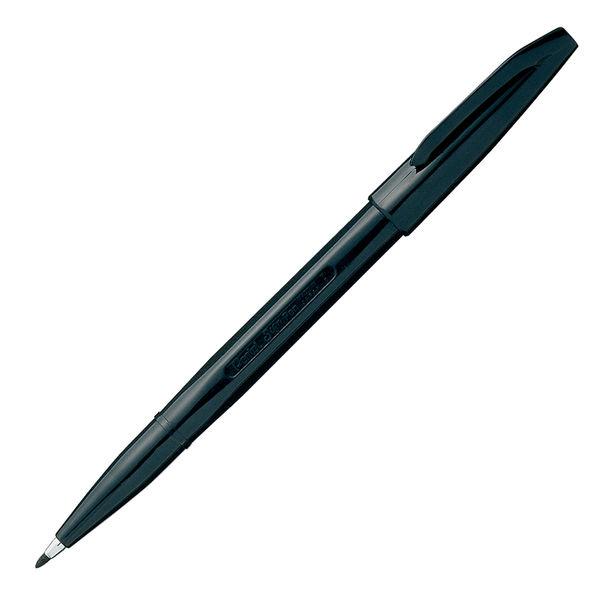 ぺんてる 水性サインペン 黒 XS520-AD 10本 (直送品)