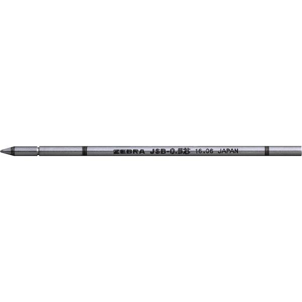 サラサ替芯 フォルティアスタイラス・シャーボXシリーズ用 0.5mm 黒 RJSB5-BK 7本 ゼブラ (直送品)