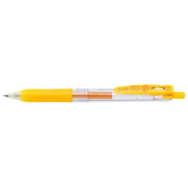 ゼブラ サラサクリップ 0.3mm 黄 JJH15-Y 10本 (直送品)