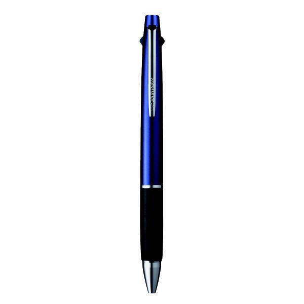 ジェットストリーム多機能ボールペン 2色+シャープ 0.7mm MSXE3-800-07 ネイビー 2本 三菱鉛筆uni (直送品)