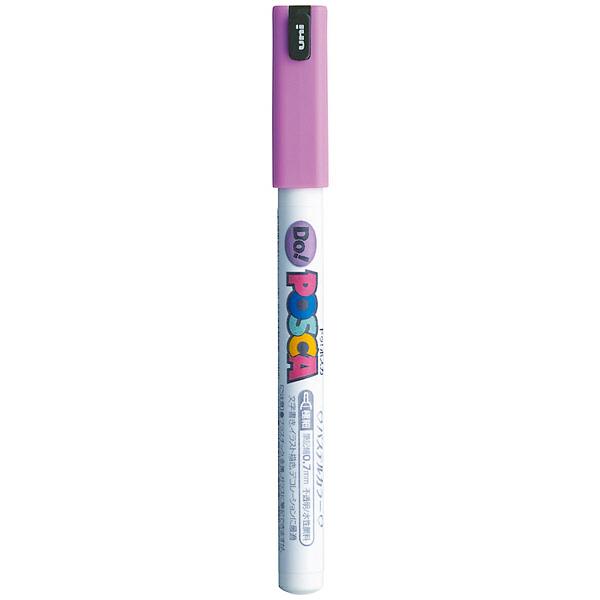 ポスカ 極細 パステルパープル PC1MDP.11 水性マーカー 5本 三菱鉛筆uni (直送品)