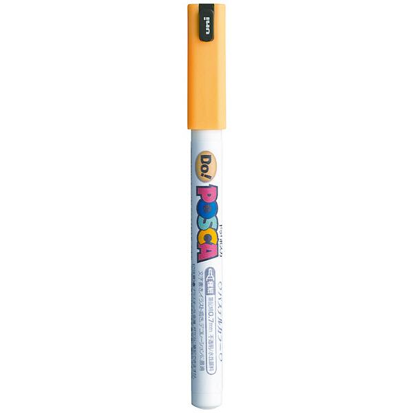 ポスカ 極細 パステルオレンジ PC1MDP.4 水性マーカー 5本 三菱鉛筆uni (直送品)