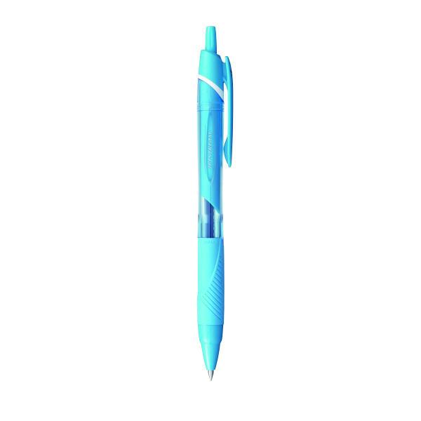 ジェットストリーム 油性ボールペン 0.5mm ライトブルー SXN-150C-05 7本 三菱鉛筆uni (直送品)
