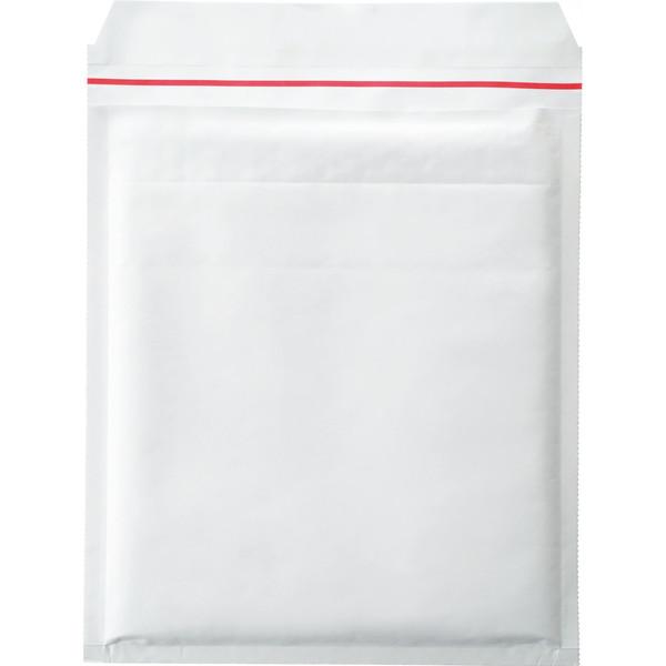 ポップクッション(クッション封筒) CD・DVD2枚用 白 無地 封緘シール付 1セット(50枚:10枚入×5パック) ユニオンキャップ