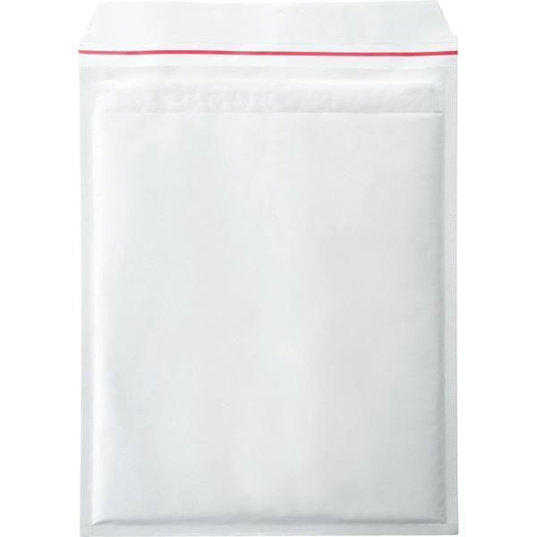 ポップクッション(クッション封筒) A4厚物用 白 無地 封緘シール付 1セット(50枚:10枚入×5パック) ユニオンキャップ