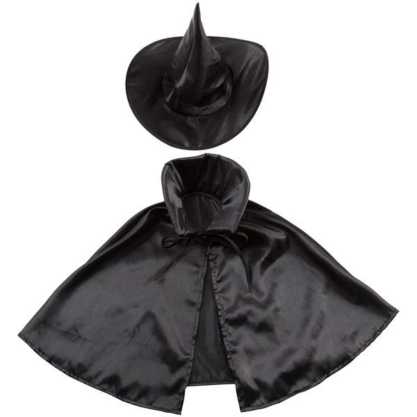 ハロウィンケープセット ブラックウィッチ