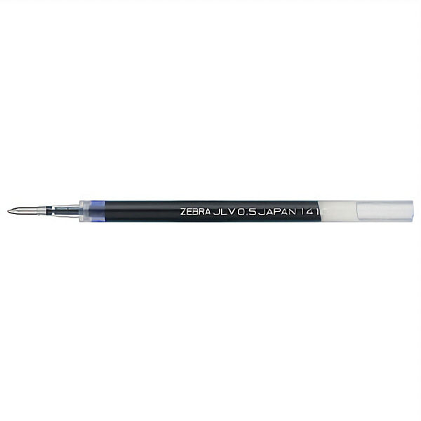 ゼブラ SARASA(サラサ) JLV芯0.5 0.5mm 青 RJLV5-BL 10本 (直送品)