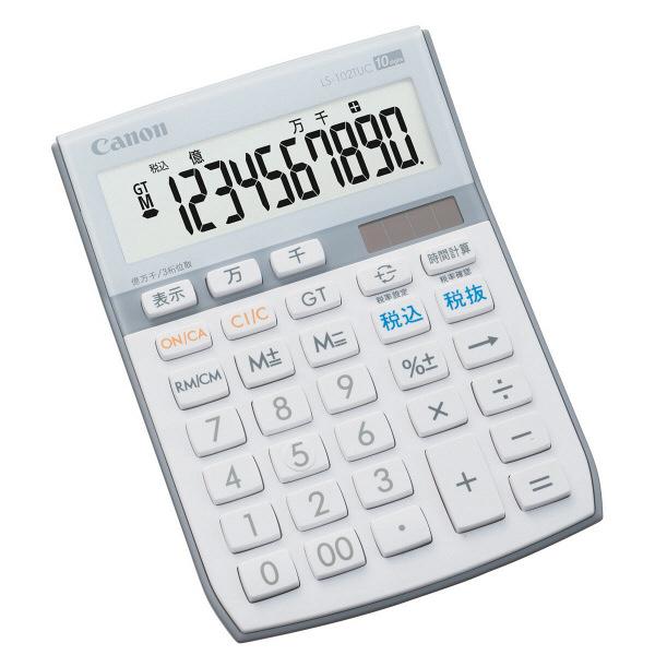 キヤノン 電卓 LS-102TUC 1個