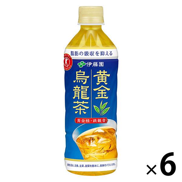 伊藤園 黄金烏龍茶 500ml 6本